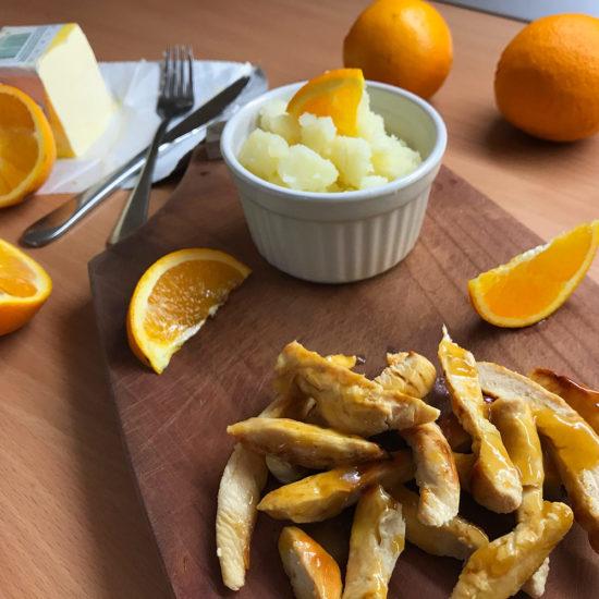 Piletina u umaku od naranče